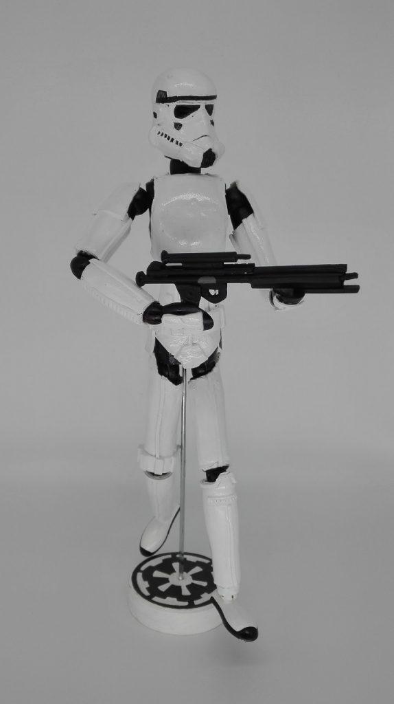 Stormtrooper. Soldado de asalto imperial. Star Wars