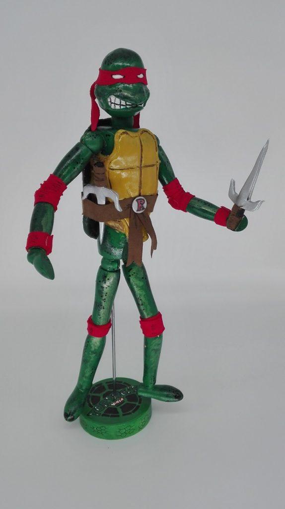 Raphael. Las Tortugas Ninja, Serie Animación.