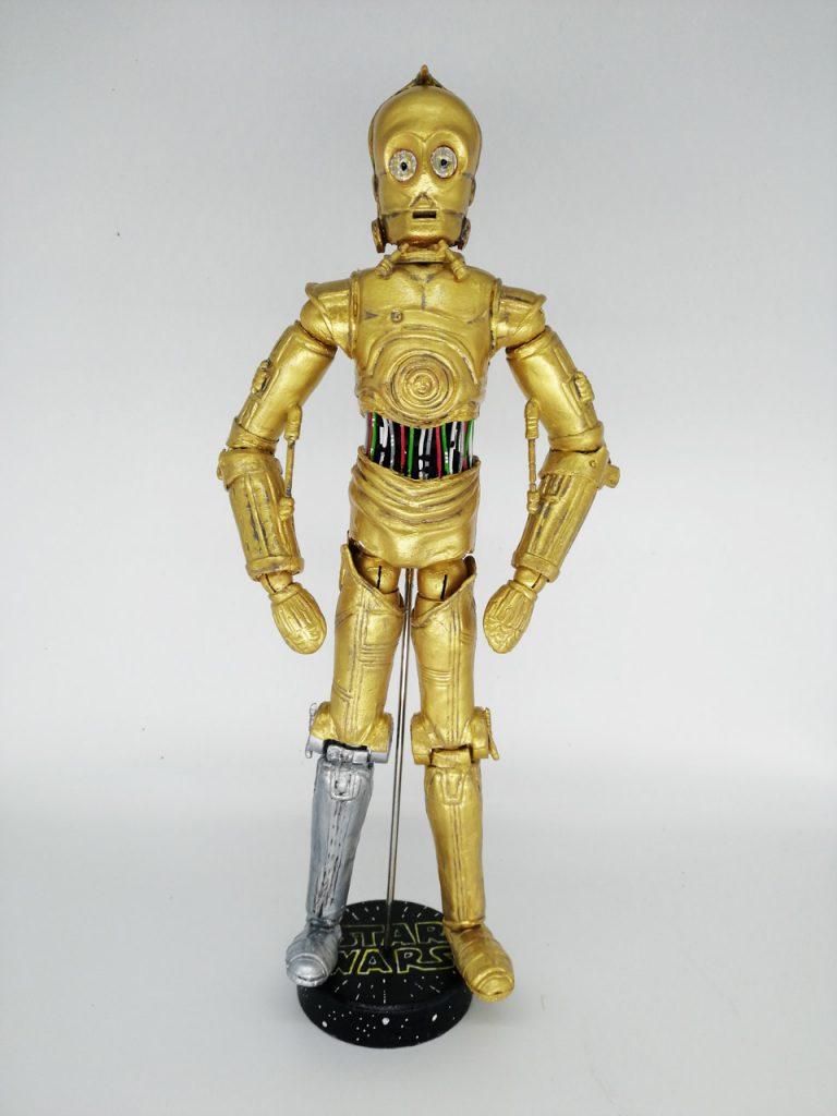 C3PO y R2D2. Star Wars