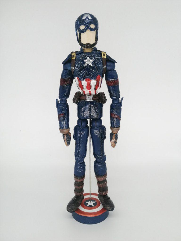 Capitán América. Vengadores Endgame.
