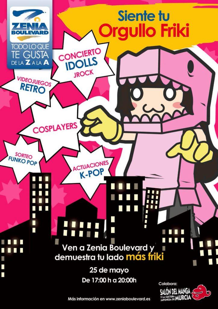 Dia del orgullo friki, Zenia Boulevard