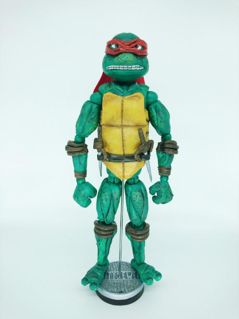 Raphael. Pelicula Tortugas Ninja 1990